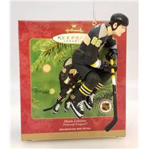 Hallmark Ornament 2001 Mario Lemieux - Penguins Hockey Greats - #QXI6155-SDB