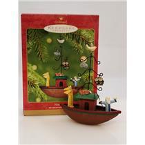 Hallmark Keepsake Ornament 2001 Noah's Ark - #QX2835-SDB