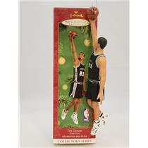 Hallmark Series Ornament 2001 Hoop Stars #7 - Tim Duncan - Spurs - #QXI5235