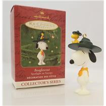 Hallmark Series Ornament 2001 Spotlight on Snoopy #4 - Beaglescout - #QX6085