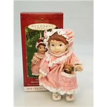 Hallmark Keepsake Series Ornament 2001 Mistletoe Miss #1 - Porcelain #QX8092-SDB