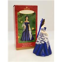 Hallmark Ornament 2001 Portrait of Scarlett OHara - Signed By Artist #QX2885-SBA