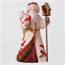 Hallmark Series Ornament 2018 Father Christmas #15 - Santa Claus - #QX9383