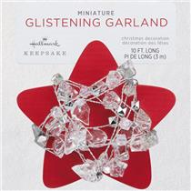Hallmark 2018 Miniature Glistening Garland - Garland for a Mini Tree #QSB6053