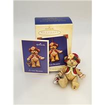 Hallmark Series Ornament 2003 Gift Bearers #5 - Porcelain Bear - #QX8239-SDB