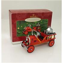 Hallmark Ornament 2000 Kiddie Car Classics #7 - 1924 Toledo Fire Engine - QX6691