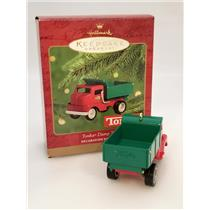 Hallmark Keepsake Ornament 2000 Tonka Dump Truck - Tonka Trucks - #QX6681