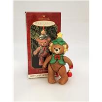 Hallmark Series Ornament 1999 Gift Bearers #1 - Porcelain Teddy Bear - #QX6437