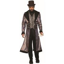 Badlands Wild Western Gambler Suit Adult Mens Costume