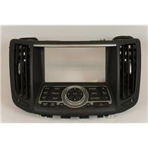 07-08 Infiniti G35 08-13 G37 Center Dash Radio Climate Bezel with NAV Controls