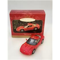 Hallmark Ornament 1997 Corvette - Classic American Cars Compliment - #QXI6455