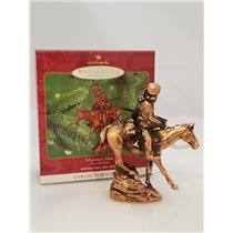 Hallmark Series Ornament 2000 The Old West #3 - Mountain Man - #QX6594-SDB