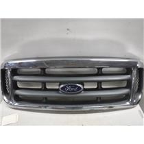 1999 - 2003 FORD F350 F250 7.3 DIESEL CHROME GRILL **EXC CONDITION** OEM