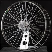 Rare 27in Road Bike Wheelset Campagnolo Record Hubs Mavic MA40 27in  630 BSD