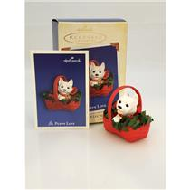 Hallmark Keepsake Series Ornament 2005 Puppy Love #15 - Westie - #QX2312