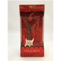 Broadway Gifts Company Ornament Red and White Electric Guitar - #OGE12R