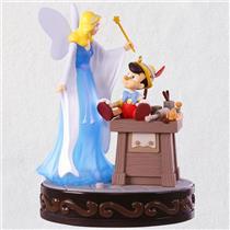 Hallmark Keepsake Magic Ornament 2018 A Real Boy - Disney's Pinocchio - #QXD6243
