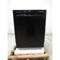"""Bosch 300 Series 24"""" BLK 44 DBA 3rd Rack Full Console Dishwasher SHEM63W52N"""