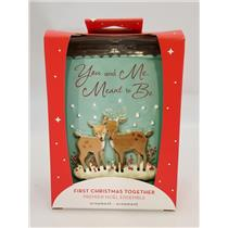 Carlton Heirlom Ornament 2018 First Christmas Together - Deers - #CXOR011O