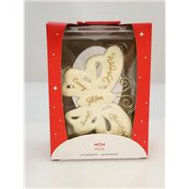 Carlton Heirloom Ornament 2018 Mom - Ceramic Butterfly - #CXOR008O