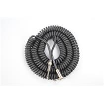 """Divine Noise 10' Curly ST-RA 1/4"""" Guitar Cable Owned by Kato Khandwala #33867"""