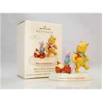 Hallmark Ornament 2012 Baby's First Christmas Classic Winnie Pooh QXD1601-SDB