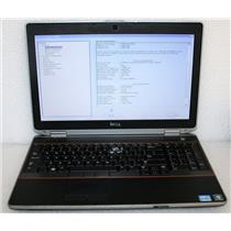 "Dell Latitude E6520 15.6"" Core i5 2430M 2.4GHz 4GB 250GB Laptop BIOS PASSWORD"