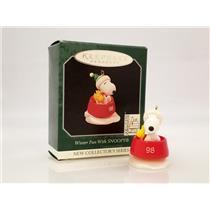 Hallmark Miniature Series Ornament 1998 Winter Fun With Snoopy #1 - #QXM4243-SDB
