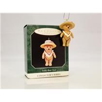 Hallmark Miniature Series Ornament 1998 Teddy Bear Style #2 - #QXM4176