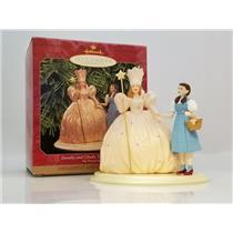 Hallmark Ornament 1999 Dorothy and Glinda the Good Witch Wizard of Oz QX6509-SDB