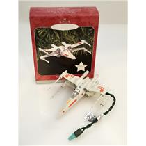 Hallmark Keepsake Magic Ornament 1998 X-Wing Starfighter - Star Wars - #QXI7596