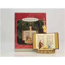 Hallmark Keepsake Ornament 1998 Miracle in Bethlehem - Nativity Scene - #QX6513