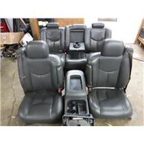 2006 2007 GMC CHEVROLET 2500 3500 SLT CREW CAB LEATHER SEATS DARK GREY FREE SHIP
