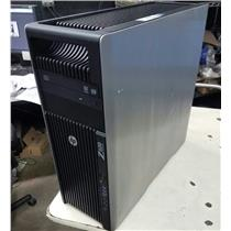 HP workstation Z620 Dual Intel Xeon, 2.4 GHz E5-2609, 2TB,  8 GB NO OS