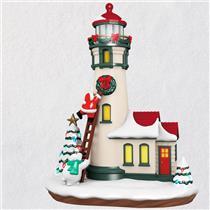 Hallmark Musical Table Decoration 2018 Luminous Lighthouse with Light - #QFM1253