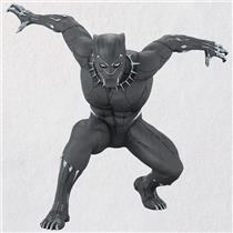 Hallmark Keepsake Ornament 2018 Black Panther - Marvel - #QXI8576
