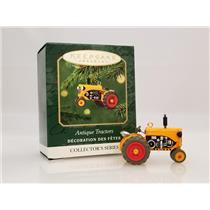 Hallmark Miniature Series Ornament 2001 Antique Tractors #5 - #QXM5252