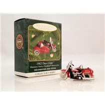 Hallmark Miniature Ornament 2000 Harley Davidson #2 - 1962 Duo Glide - #QXI6001