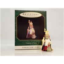 Hallmark Miniature Series Ornament 1997 Centuries of Santa #4 - #QXM4295