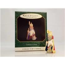 Hallmark Miniature Series Ornament 1997 Centuries of Santa #4 - #QXM4295-DB