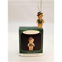 Hallmark Miniature Series Ornament 1997 Teddy Bear Style #1 - #QXM4215