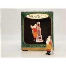 Hallmark Miniature Ornament 1997 Ice Cold Coca-Cola - Santa Claus - #QXM4252