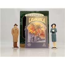 Hallmark Keepsake Miniature Ornament Set 1997 Casablanca - 3 Pieces - #QXM4272