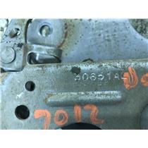 2010-2013 Dodge Ram 2500 3500 emergency brake pedal tag as43695