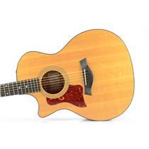 Taylor 314-CE Left Handed Acoustic Electric Guitar w/ Case Carlos Rios #33989
