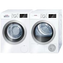 """Bosch 500 Series 24"""" Front Load Washer and Dryer WAT28401UC / WTG86401UC IMG"""