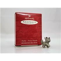 Hallmark Keepsake Miniature Ornament 2000 Husky - Frosty Friends - #XPT1995