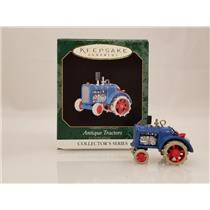 Hallmark Miniature Series Ornament 1999 Antique Tarctors #3 - #QXM4567-SDB