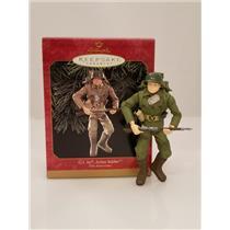 Hallmark Ornament 1999 Action Soldier - 35th Anniversary G.I. Joe - #QX6537