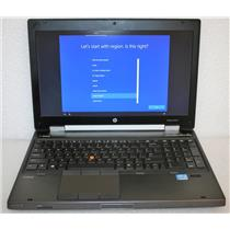 "HP Elitebook 8570W 15.6"" Core i7 3630QM 2.4GHz 8GB500GB AMD FirePro M4000 Laptop"